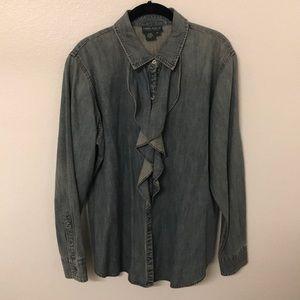 Ralph Lauren Jeans Co. denim button up shirt